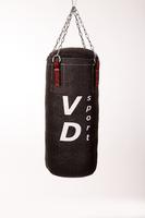 Боксёрская груша (боксёрский мешок), Кирза - 80 см,  Ø 36 см, вес 20 кг