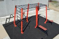 Уличная площадка для Workout, уличная станция